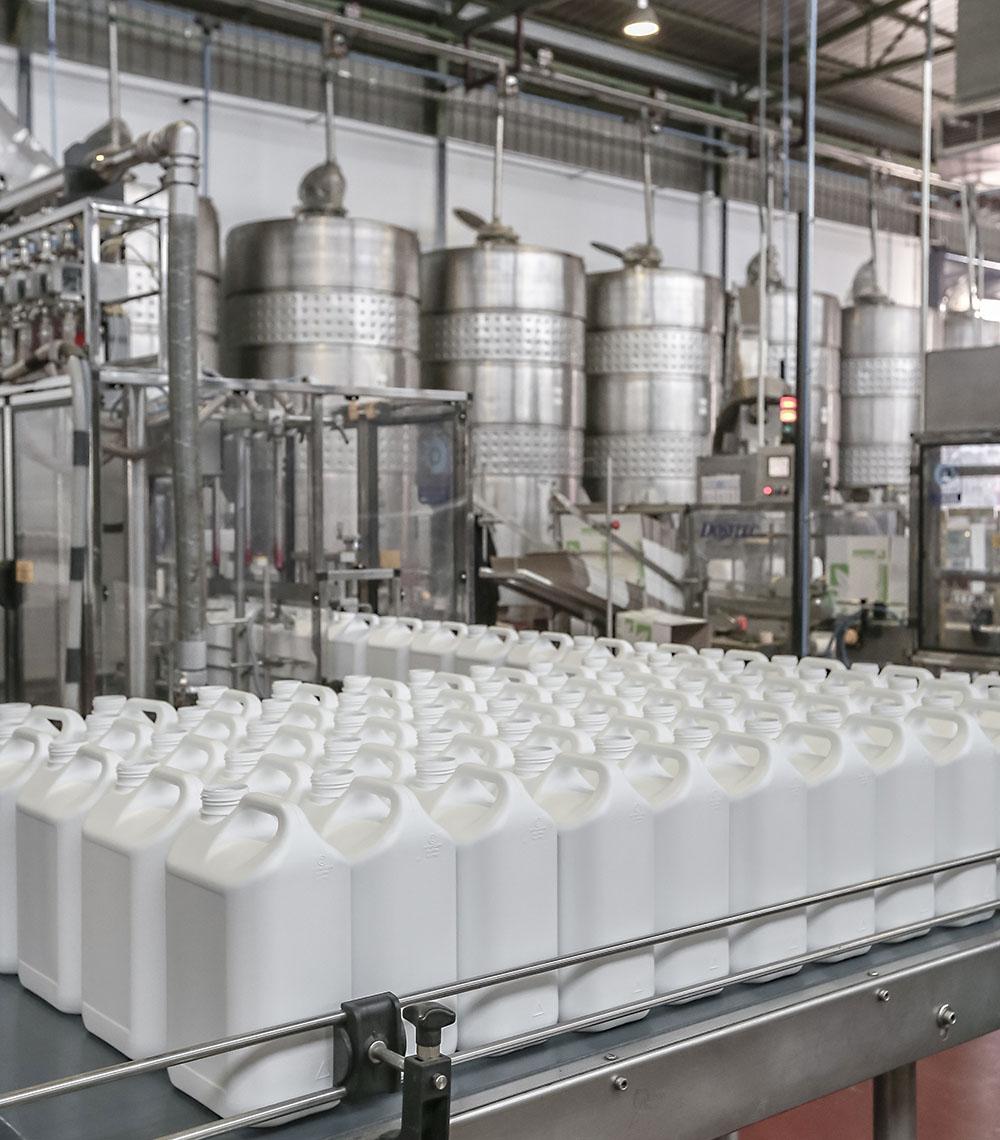 AgriTecno biostimulants warehouse
